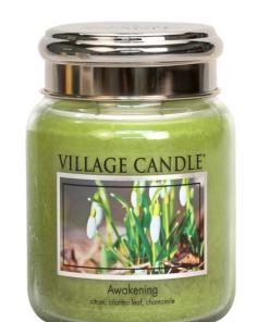 village-candle-awakening-medium-jar