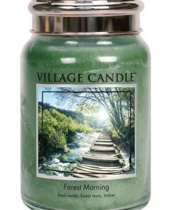 village-candle-forest-morning-large-jar