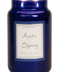 village-candle-arctic-spring-large-jar
