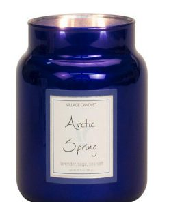 village-candle-arctic-spring-medium-jar