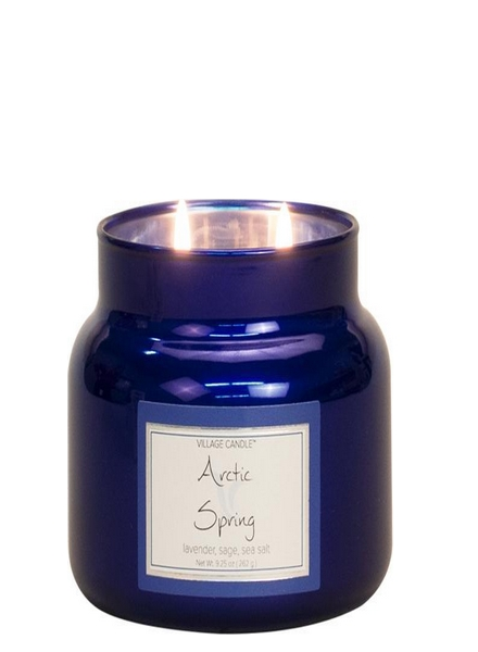 village-candle-arctic-spring-small-jar