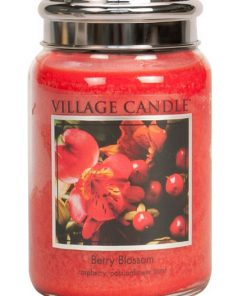 village-candle-berry-blossom-large-jar