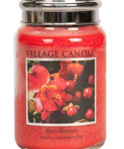 village-candle-berry-blossom-large-jar