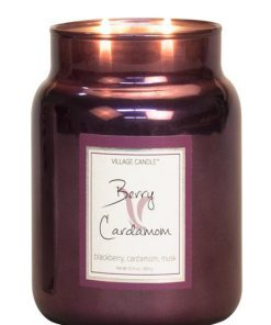 village-candle-berry-cardamom-medium-jar