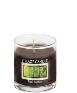 village-candle-black-bamboo-votive