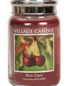 village-candle-black-cherry-large-jar