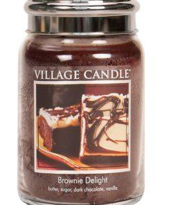 village-candle-brownie-delight-large-jar