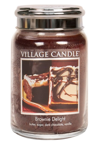 village-candle-brownie-delight-large-jar