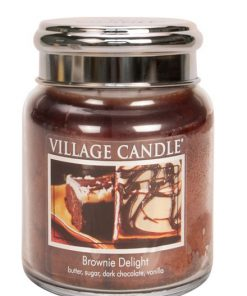 village-candle-brownie-delight-medium-jar