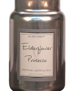 village-candle-elderflower-prosecco-large-jar