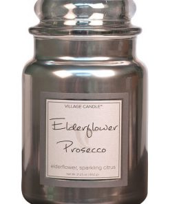 village-candle-elderflower-prosecco-large-jar-metallic