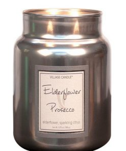 village-candle-elderflower-prosecco-medium-jar