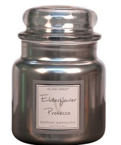 village-candle-elderflower-prosecco-medium-jar-metallic