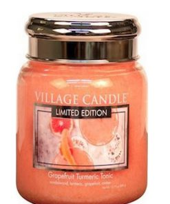 village-candle-grapefruit-turmeric-tonic-medium-jar