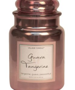village-candle-guave-tangerine-large-jar-metallic