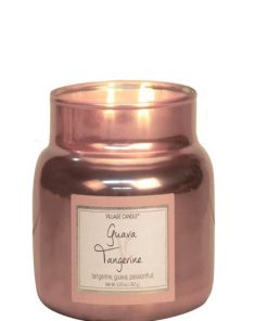 village-candle-guave-tangerine-small-jar