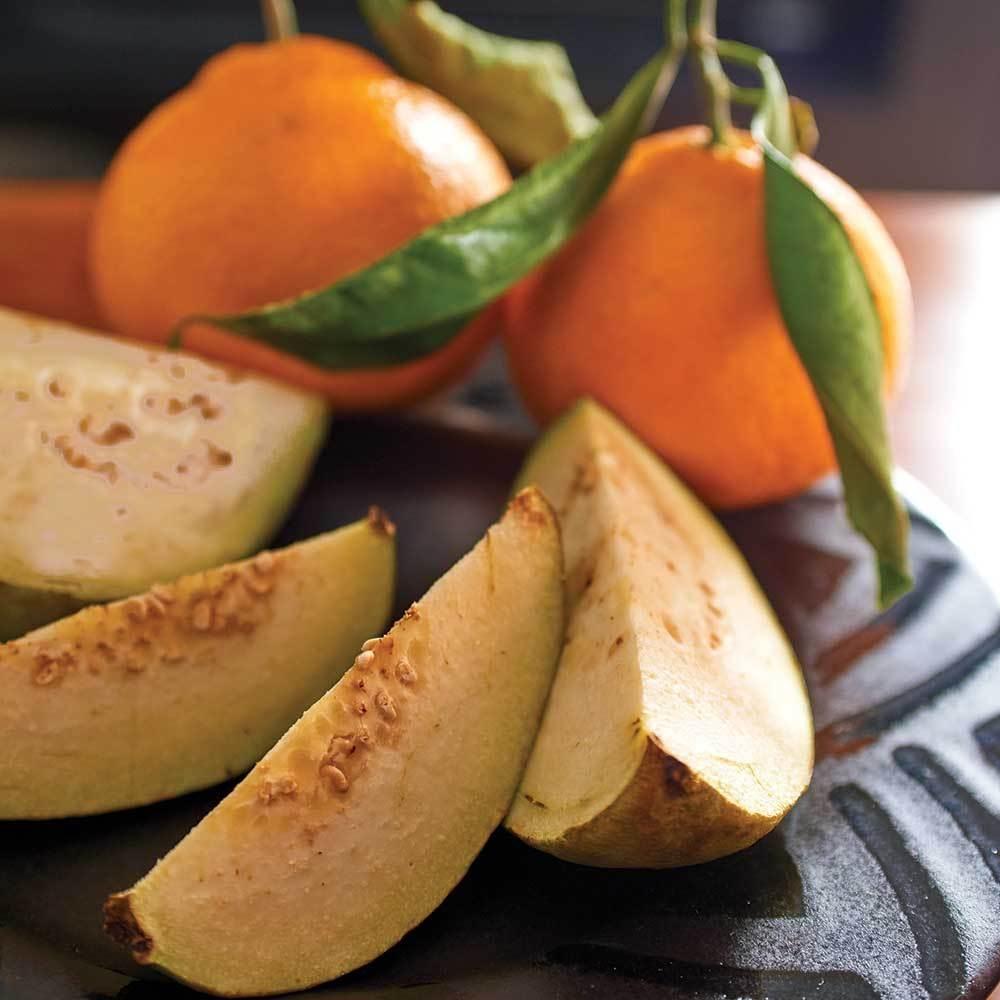 village-candle-guave-tangerine