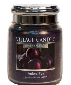 village-candle-patchouli-plum-medium-jar