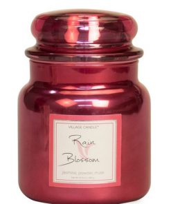 village-candle-rain-blossom-medium-jar-metallics