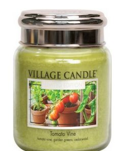 village-candle-tomato-vine-medium-jar