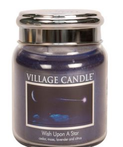 village-candle-wish-upon-a-star-medium-jar