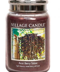 village-candle-acai-berry-tobac