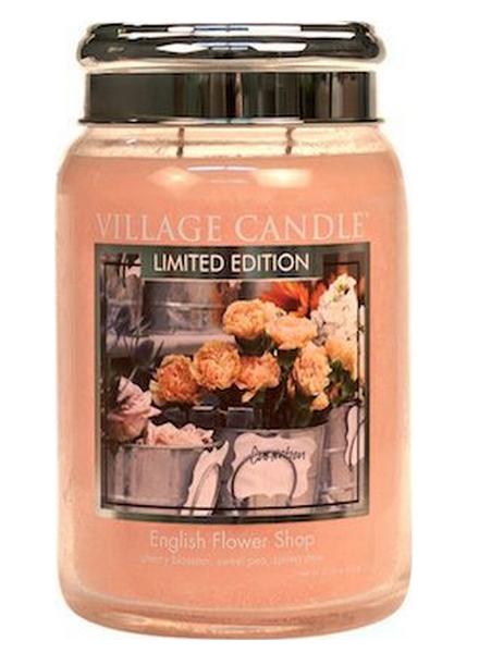 village-candle-english-flower-shop