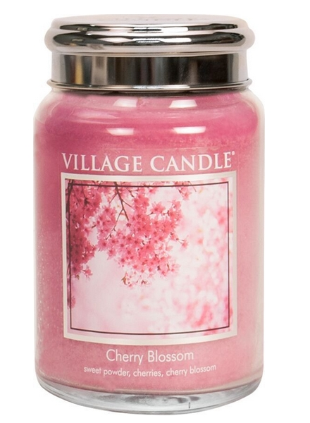 village-candle-cherry-blossom-large-jar