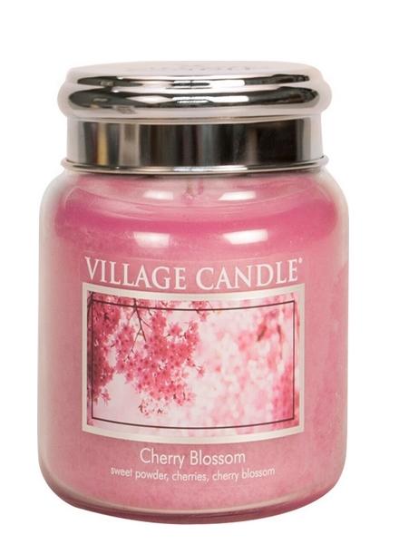 village-candle-cherry-blossom-medium-jar