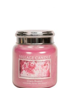 village-candle-cherry-blossom-mini-jar