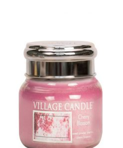 village-candle-cherry-blossom-small-jar