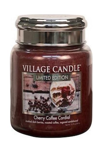 village-candle-cherry-coffee-cordial-medium-jar