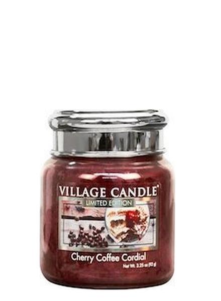 village-candle-cherry-coffee-cordial-mini-jar