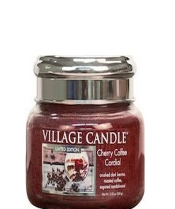 village-candle-cherry-coffee-cordial-small-jar