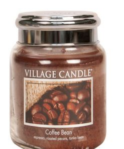 village-candle-coffee-bean-medium-jar