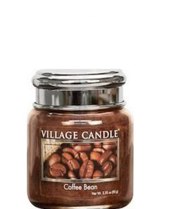village-candle-coffee-bean-mini-jar