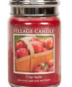 village-candle-crisp-apple-large-jar