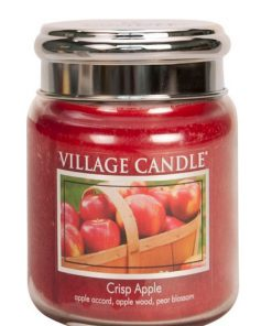 village-candle-crisp-apple-medium-jar