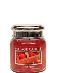 village-candle-crisp-apple-mini-jar