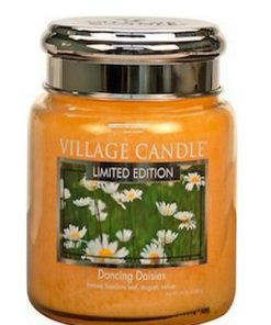 village-candle-dancing-daisies-medium-jar