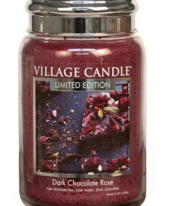 village-candle-dark-chocolate-rose