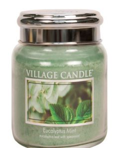 village-candle-eucalyptus-mint-medium-jar