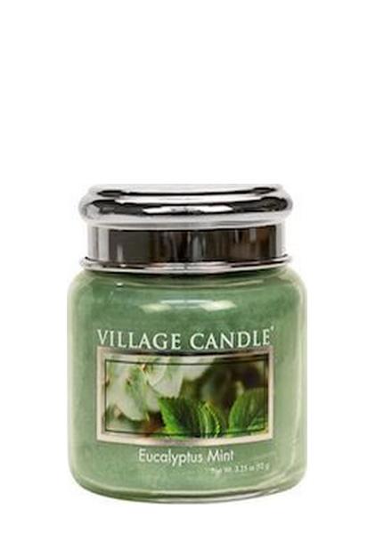 village-candle-eucaplyptus-mint-mini-jar