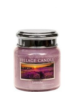 village-candle-lavender-mini-jar