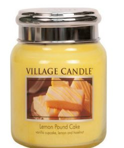 village-candle-lemon-pound-cake-medium-jar