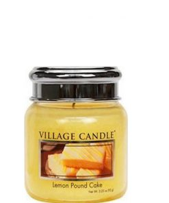village-candle-lemon-pound-cake-mini-jar
