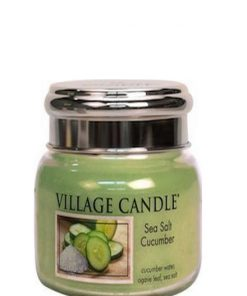village-candle-sea-salt-cucumber-small-jar