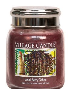 village-candle-acai-berry-tobac-medium-jar